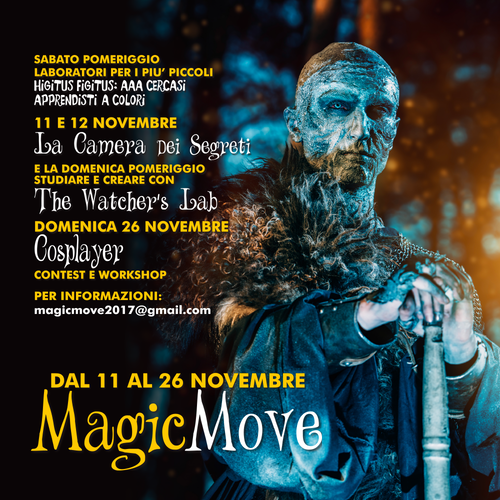 Eventi Magic Move!