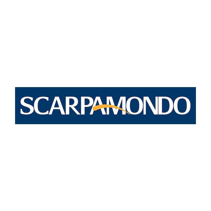 1609776199 scarpamondo logo white logo on blue background