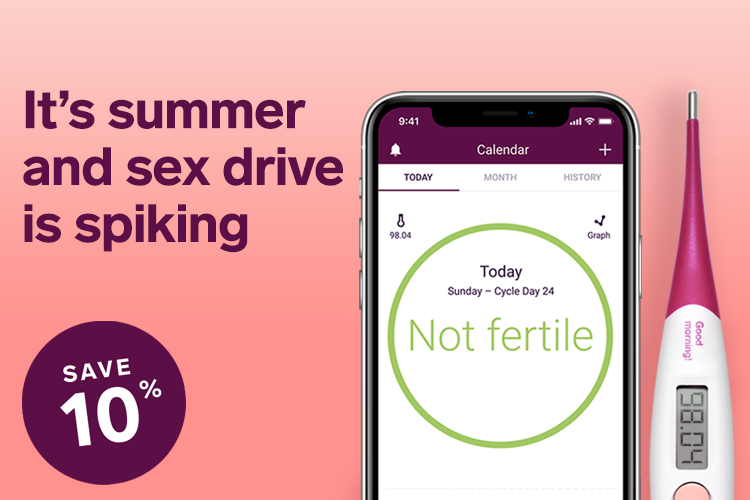 It's summer and sex drive is spiking. Save 10%.