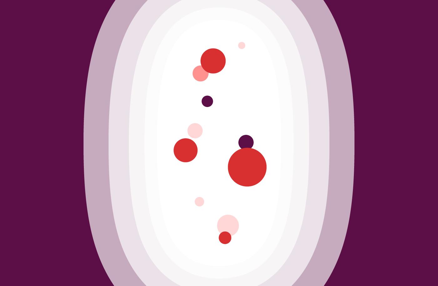 Withdrawal bleeding illustration