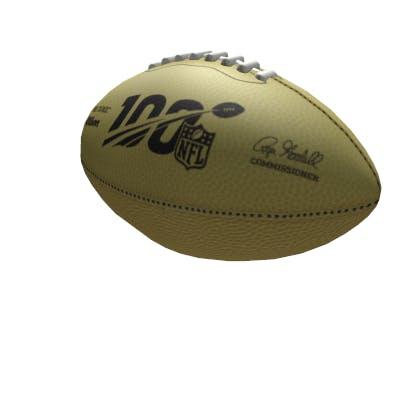 Roblox Golden Football Gear image