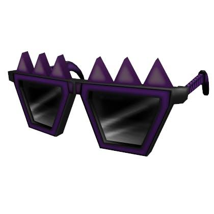 Roblox Spiky Creepy Shades Accessory | Face image