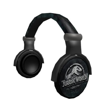 Jurassic World headphones image
