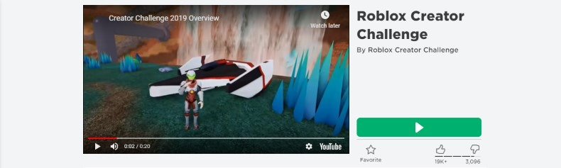 Roblox Galactic Speedway Creator Challenge