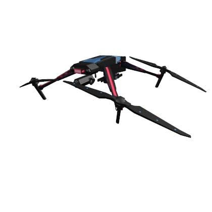 Roblox Frostee's Drone Accessory | Shoulder image