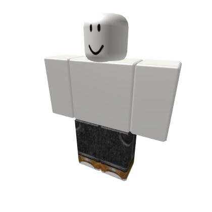 Roblox Black Jeans Pants image