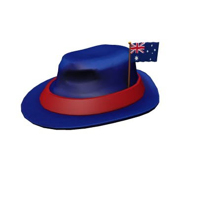 Roblox International Fedora - Australia Accessory | Hat image
