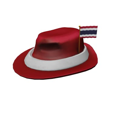 Roblox International Fedora - Thailand Accessory | Hat image