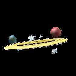 Saturn Ring Hat image