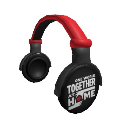 Roblox Historic Headphones Accessory   Hat image