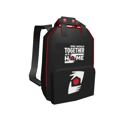 Roblox Bravery Backpack Accessory | Back image