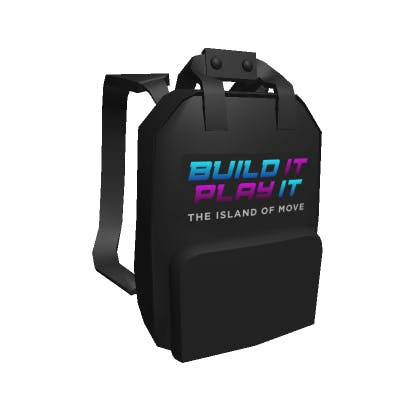 Build It Backpack image
