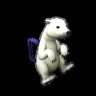 Roblox - Arctic Polar Bear Backpack