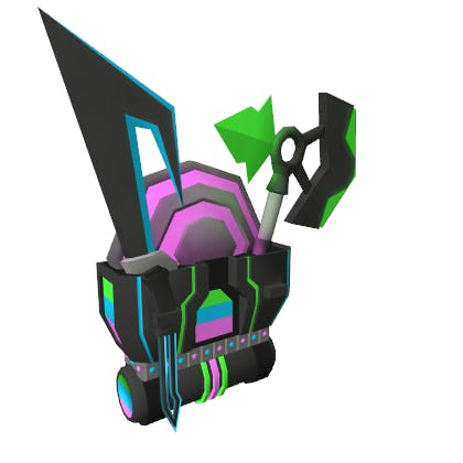 Roblox RB Battle Pack Accessory | Back image