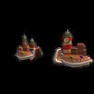 Roblox - Gingerbread Pauldrons