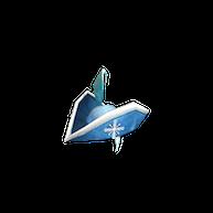 Roblox - Frozen Pirate Hat