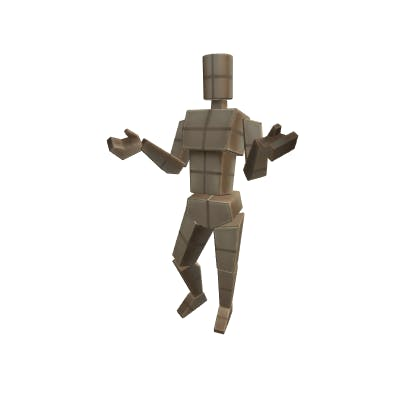 Roblox Shrug Emote image