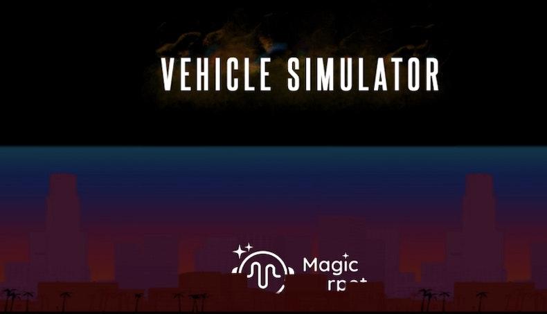 Rick's Boom Box Relic in Vehicle Simulator image