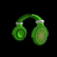 Roblox - Lime Slice Headphones