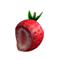 Roblox - Sliced Strawberry Hat