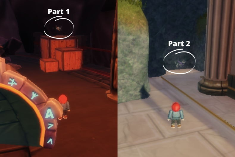 Get Pickaxe Parts 1, 2, and 3 image