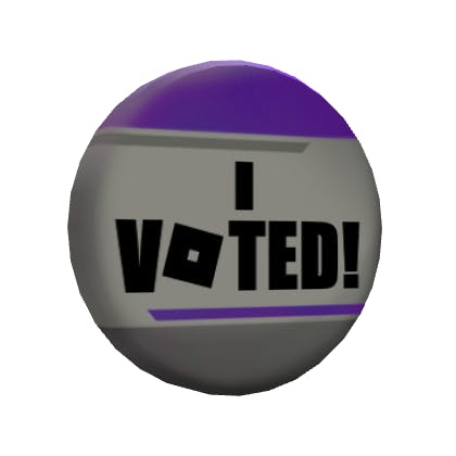 8th Annual Bloxys Voter's Pin image