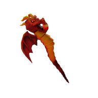Roblox - Staff of Dragon Fire