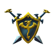 Roblox - Dragon Warrior Swords and Shield