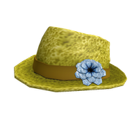 Roblox - More Spring Crochet Fedora