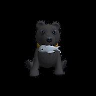 Roblox - Baby Black Bear Shoulder Friend