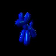 Roblox - Blue Balloon Animal Shoulder Pal