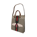 Gucci GG Supreme Tote and Bee (for 3.0) image