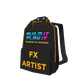 Roblox Artist Backpack Accessory   Back image