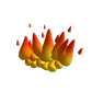 Roblox Ring of Flames Accessory   Waist image