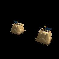 Roblox - Sandcastle Pauldrons