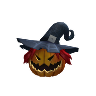 Roblox $100 - Pumpkin Witch Head
