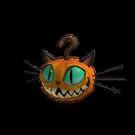 Roblox $50 - Pumpkin Cat Head