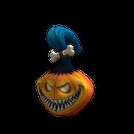 Roblox $25 - Pumpkin Voodoo Doll Head