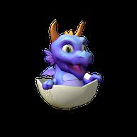 Roblox  - Purple Dragon Hatchling Friend