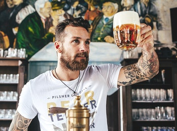 Chapter 8 - Pilsner Urquell tapsters