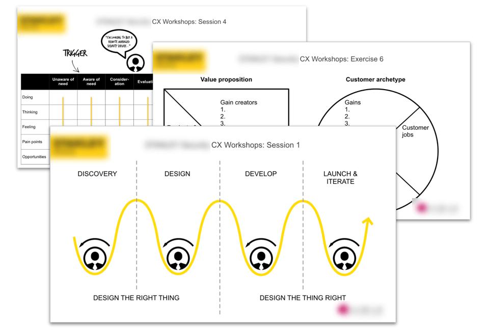 User-centred design presentation slides