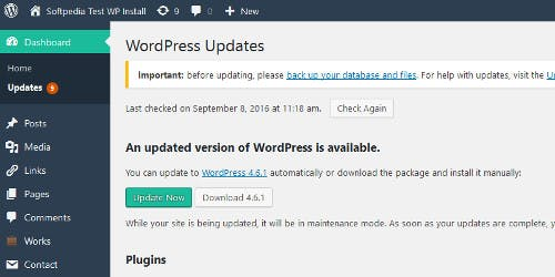 WordPress 4.6.1 security update is out, time to update peeps