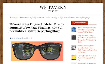18 WordPress plugins updated due to Summer of Pwnage findings, 40+ vulnerabilities still in reporting stage