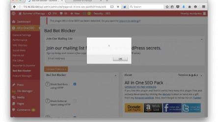 (German) Lücke in All-in-One-SEO-Plug-in gefährdet WordPress-Seiten