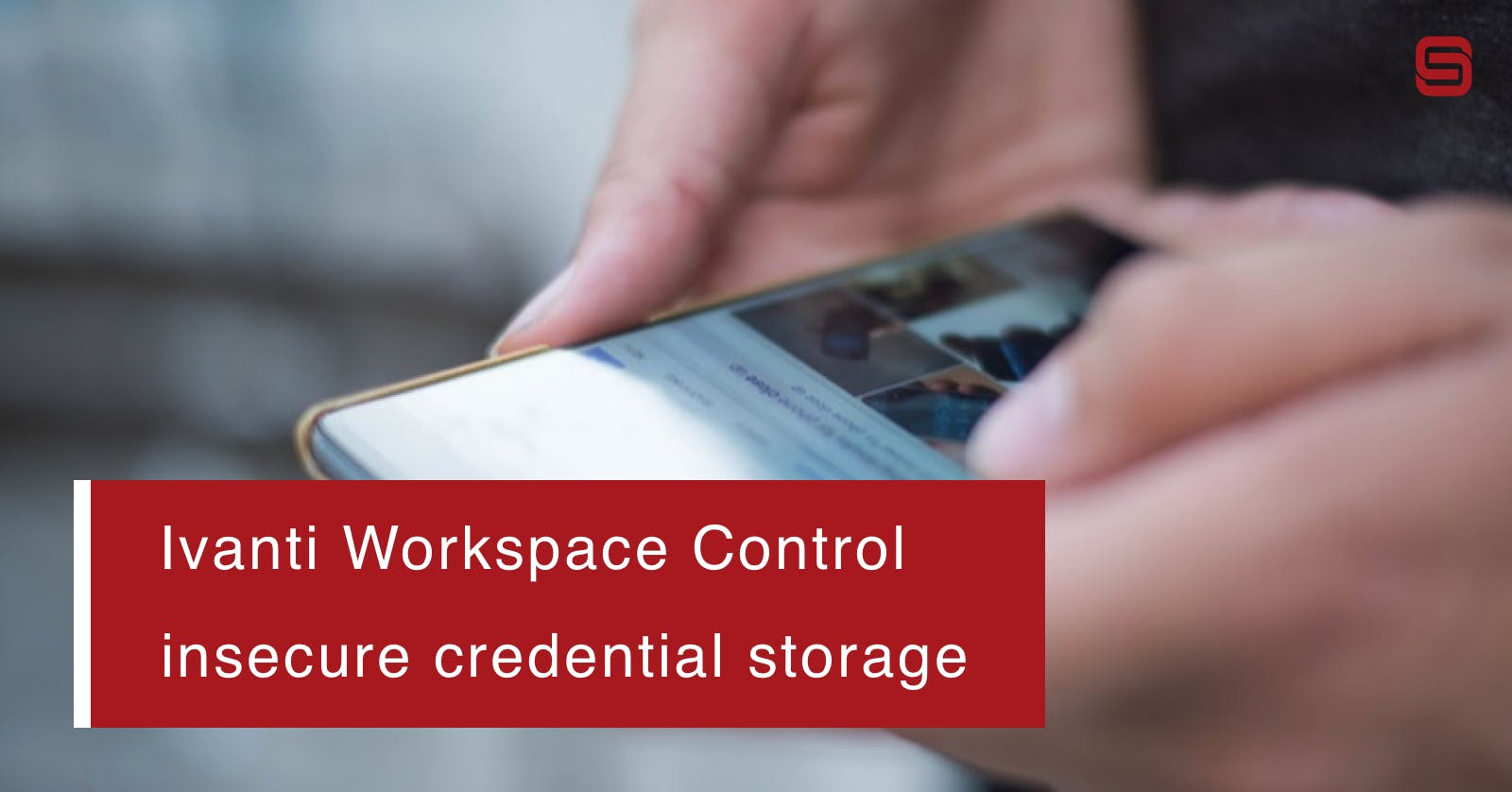 Stored credentials Ivanti Workspace Control can be retrieved from Registry