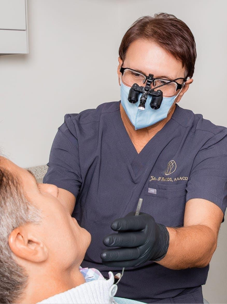 Dr. Rink Cosmetic Dentist in Charleston SC