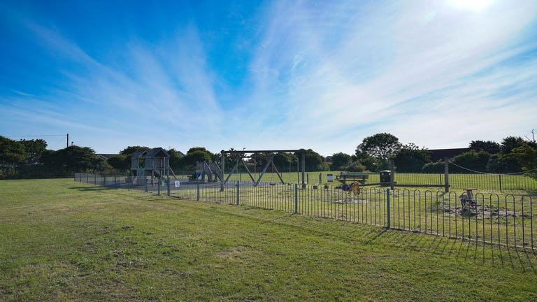 Image of Hillfield Park with amazing skies