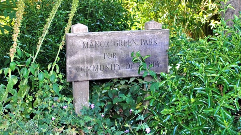 Manor Green Park Sensory Garden