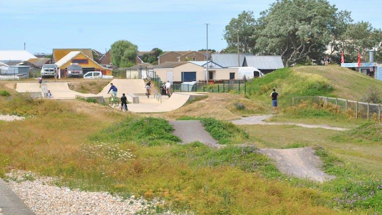 East Beach Green Skate Park and BMX Track