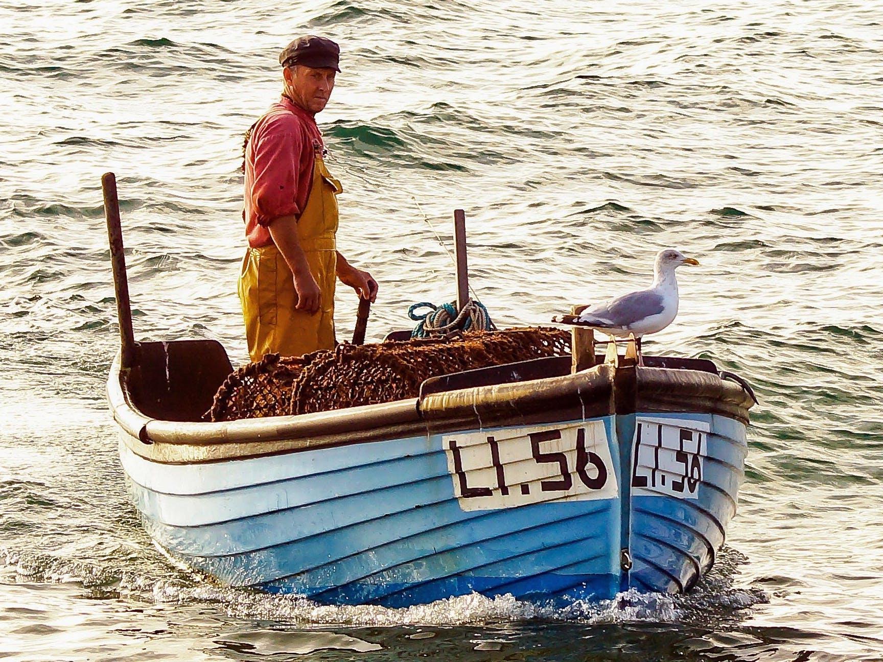 Gem Lawrence Bringing Home the Catch, Courtesy of Coastal JJ